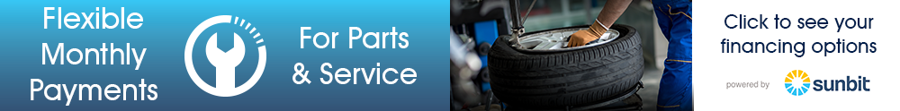 Service, Parts and Repair Financing Offer